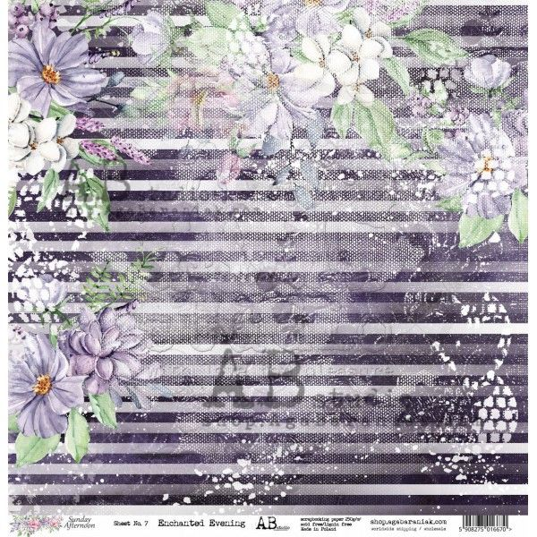 paper-enchanted-evening-sheet-7-sunday-afternoon-12x12 (1) ab studio