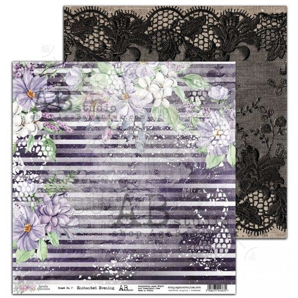 paper-enchanted-evening-sheet-7-sunday-afternoon-12x12 ab studio